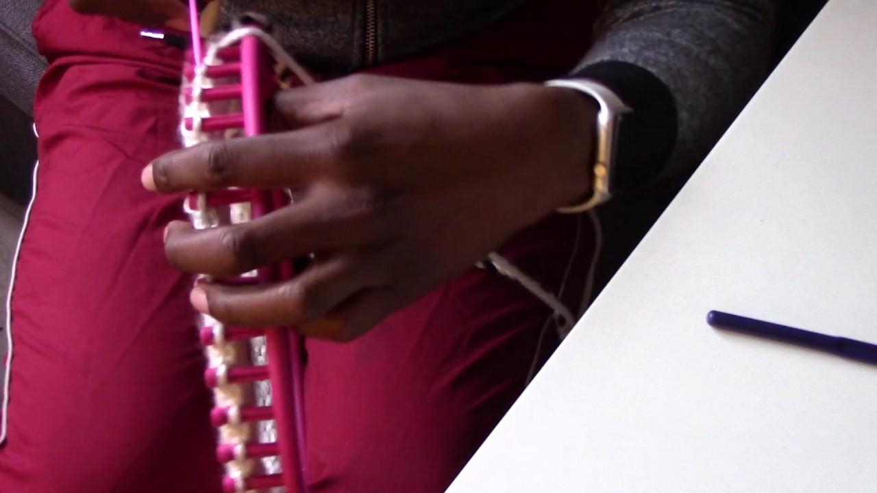 Le on n 17 terminer un projet au tricotin circulaire - Comment terminer un tricotin ...