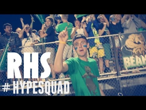 Crazy Student Section Riverbend High School - #HypeSquad