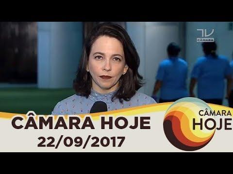 Câmara Hoje - Segunda denúncia contra Temer chega à Câmara  - 22/09/2017