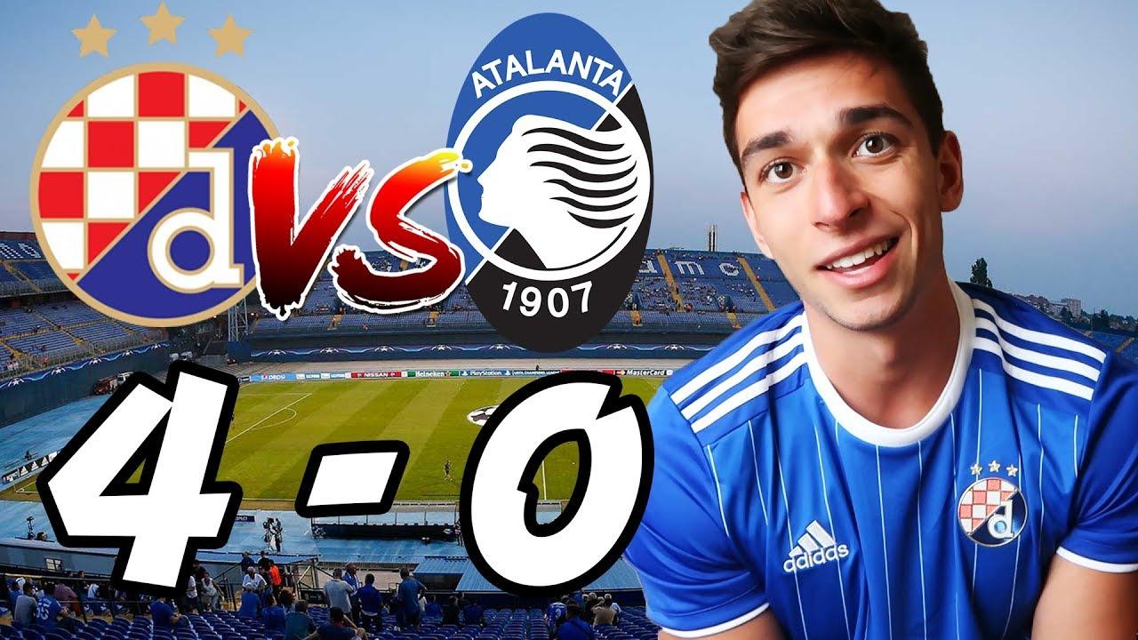 Dinamo Zagreb Vs Atalanta 4 0 Ucl Vlog Youtube