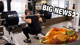 How To Recover From Thanksgiving Dinner | LEG WORKOUT