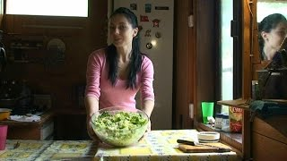 """Очень просто - салат """"бавария"""" с курицей и ананасами"""