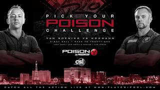 2016 Poison Challenge: Thorsten Hohmann vs Shane Van Boening