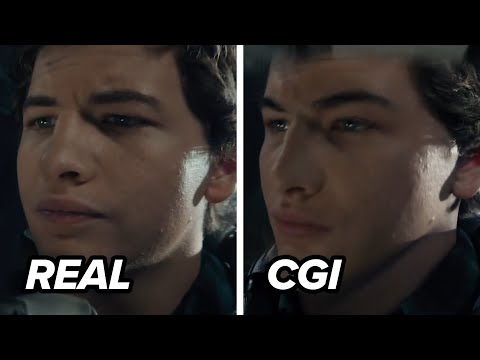 Ready Player One - Tye Sheridan's CGI Face Transition!