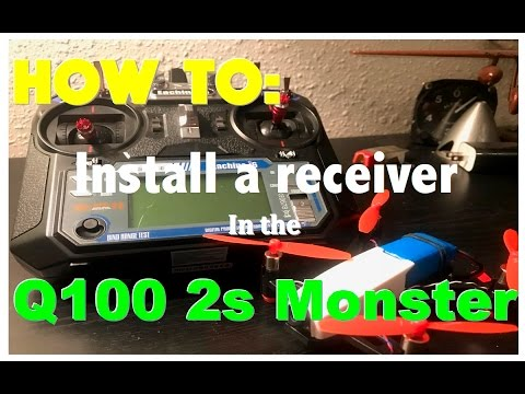 2s q100 UPDATE- Installing The Flysky FS-A8s Receiver in my Q100 2s (included bind procedures)