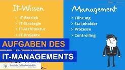Aufgaben des IT-Managements