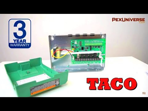 Taco 3-Zone Switching Relay w/priority, Expandable - YouTube