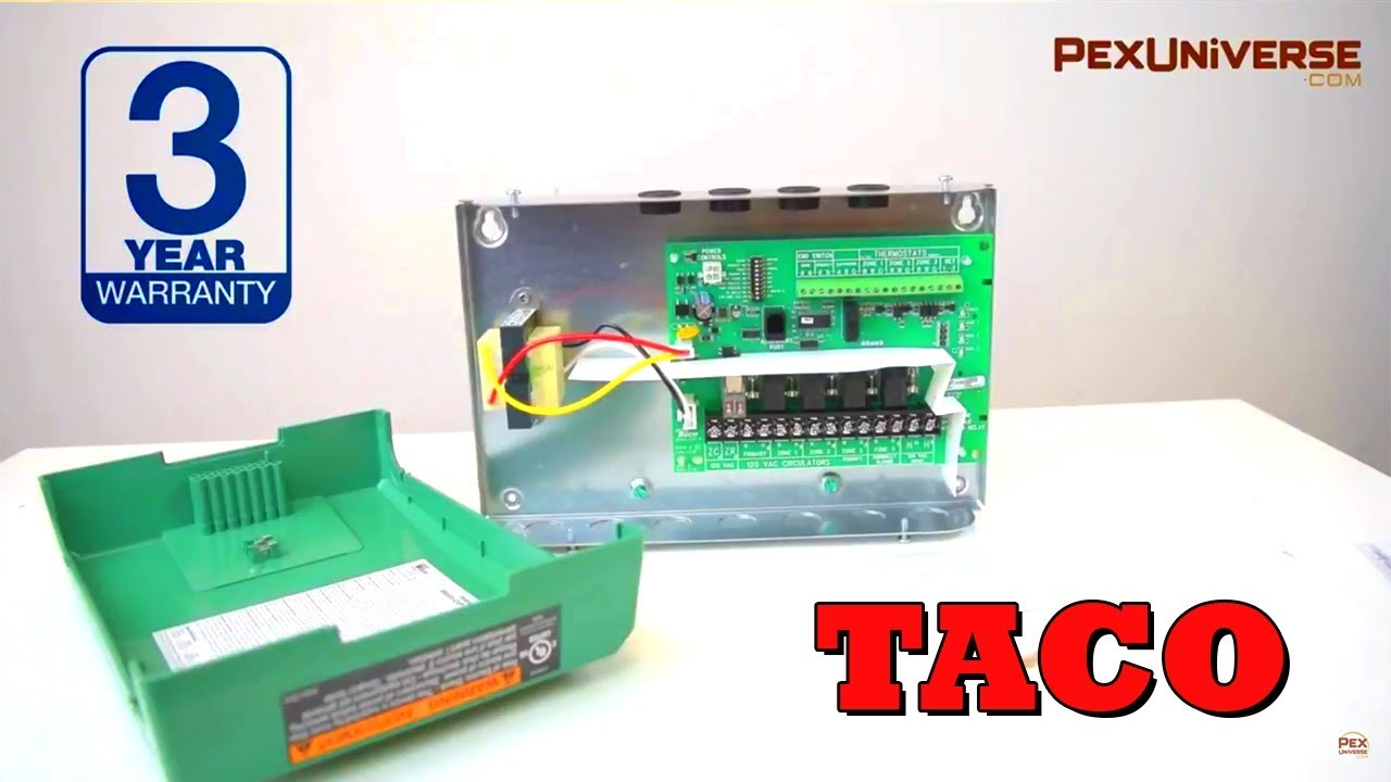 taco 3 zone switching relay w priority expandable [ 1280 x 720 Pixel ]