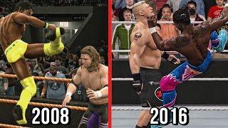 The Evolution Of Kofi Kingston's Trouble In Paradise! ( Smackdown 2009 To WWE 2K17 )