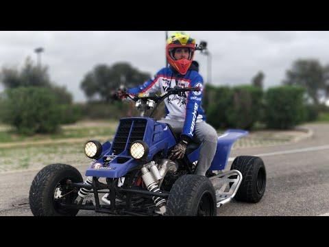 Yamaha Banshee 350 First Ride 2018