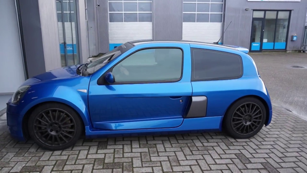 restyling renault sport clio v6 youtube. Black Bedroom Furniture Sets. Home Design Ideas