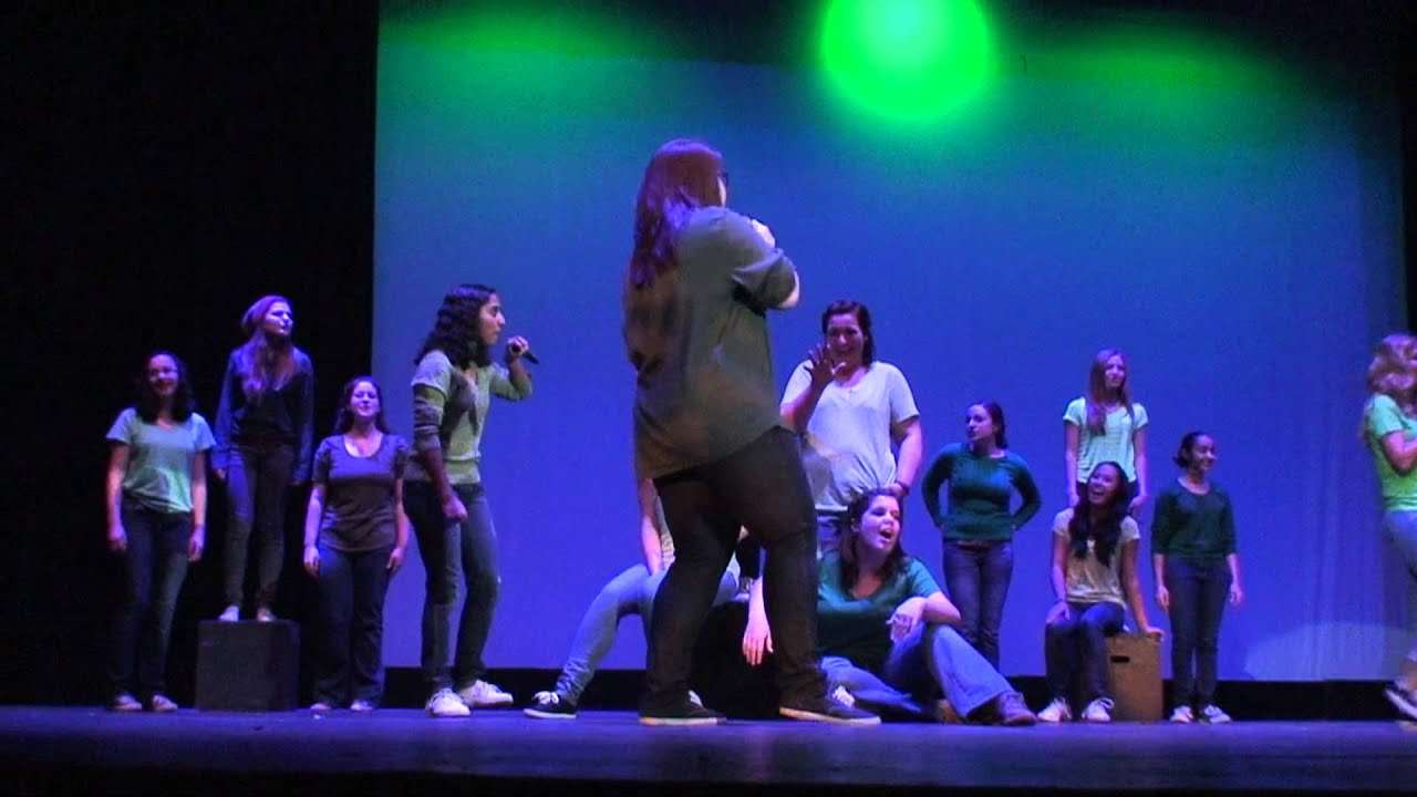 Dgs Talent Show 2013 Treble Ensemble Performs The Pool Mashup From Pitch Perfect Youtube