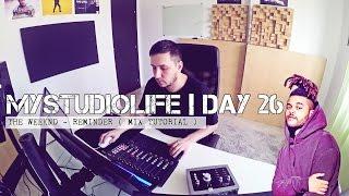 The Weeknd - Reminder ( Instrumental Mixing Tutorial - Keys  )