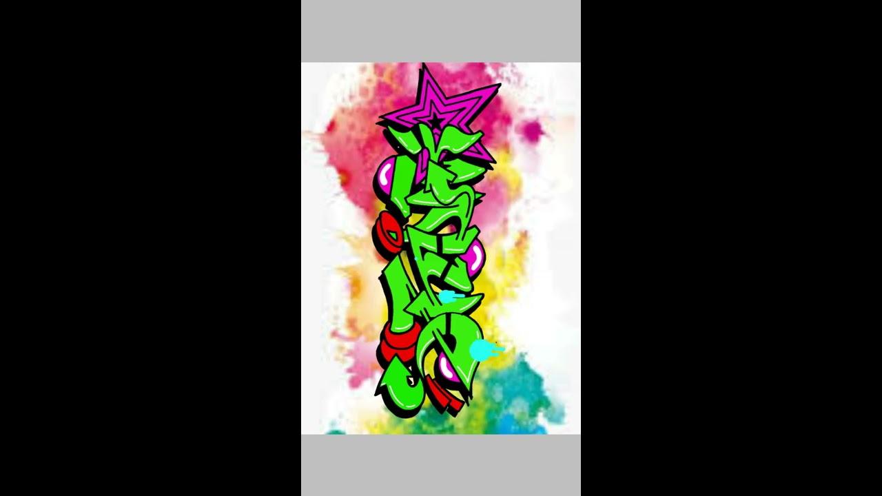 Membuat graffiti dengan aplikasi ibispaint x