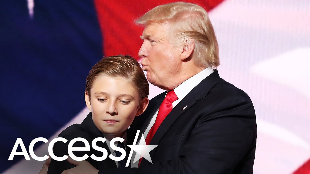 Barron Trump Is 14 Years Old From Kid In The White House To Teen Youtube