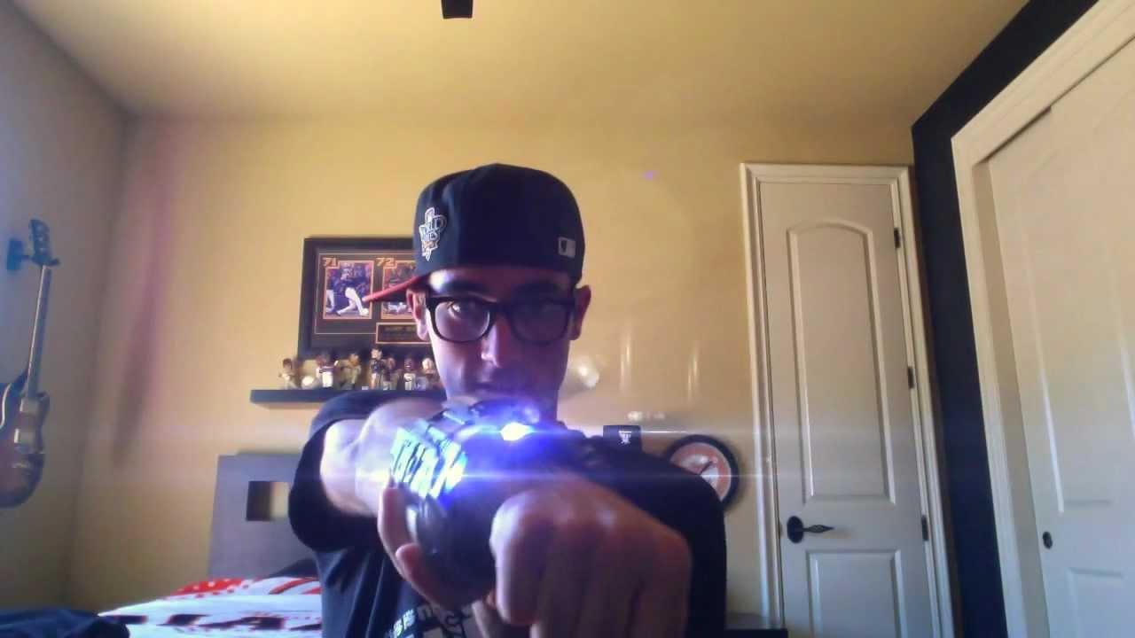Cowboys & Aliens Wristshot Weapon Test!!! - YouTube