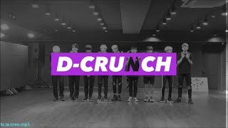 (un)helpful guide to D-CRUNCH (디크런치)
