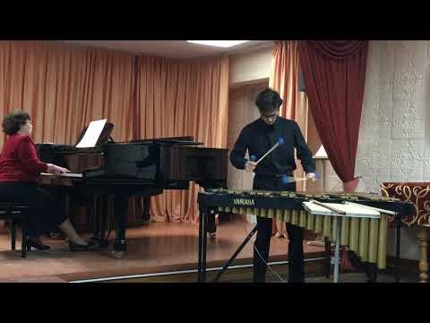 Эммануэль Сежурне-1 часть. Концерт для вибрафона с оркестром .Исп. Сухарев Лукас