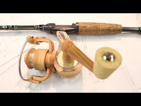 Making A Fishing Reel | FINISHED!