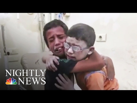 Aleppo's Children: On The Frontline With Syria's White Helmets | NBC Nightly News