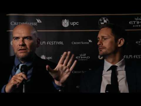 John Michael McDonagh & Alexander Skarsgård – Interview WAR ON EVERYONE