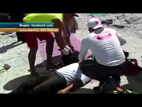 Момент взрыва парома в Мексике попал на видео
