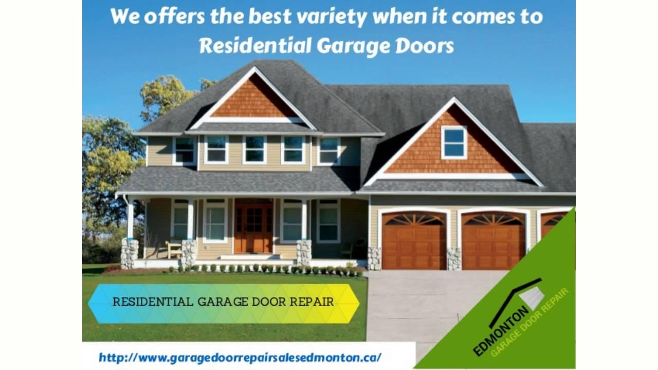 Garage Door Repair Edmonton Replacement Opener Maintenance And