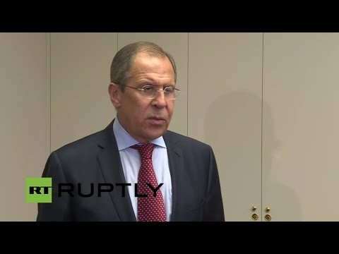 LIVE: Press statement from Lavrov following Minsk Group talk