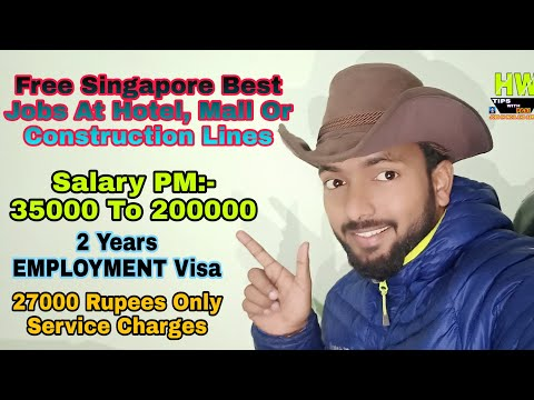 600+ New Free JOBS At Singapore Country, With Full DETAILS