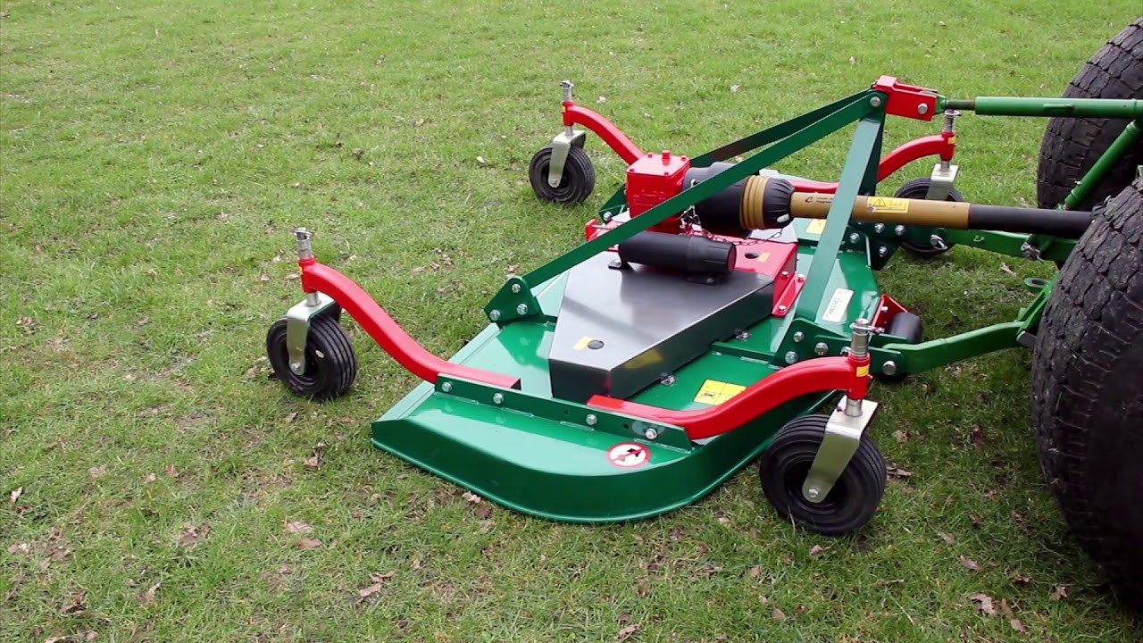 Wessex CMT Finishing Mowers - YouTube