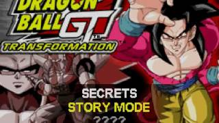 DRAGON BALL GT TRANSFORMATION#1 ESTO ES MUY DIFICIL!