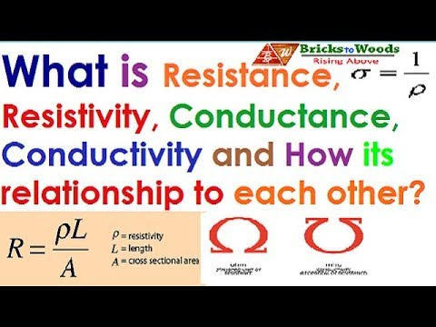 What is resistance & conductance | BricksToWoods