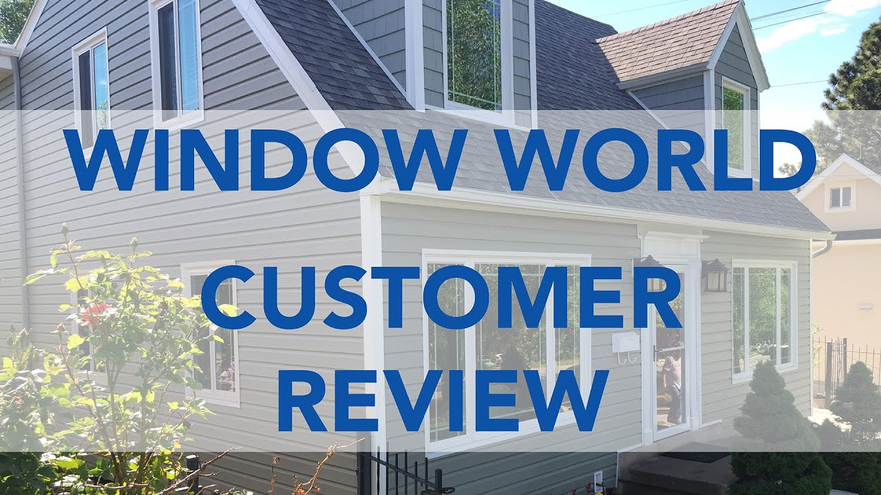 Window world utah reviews replacement vinyl windows and for Vinyl window reviews