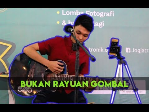 PENONTON PECAH...!!! Bukan Rayuan Gombal cover by Adlan -