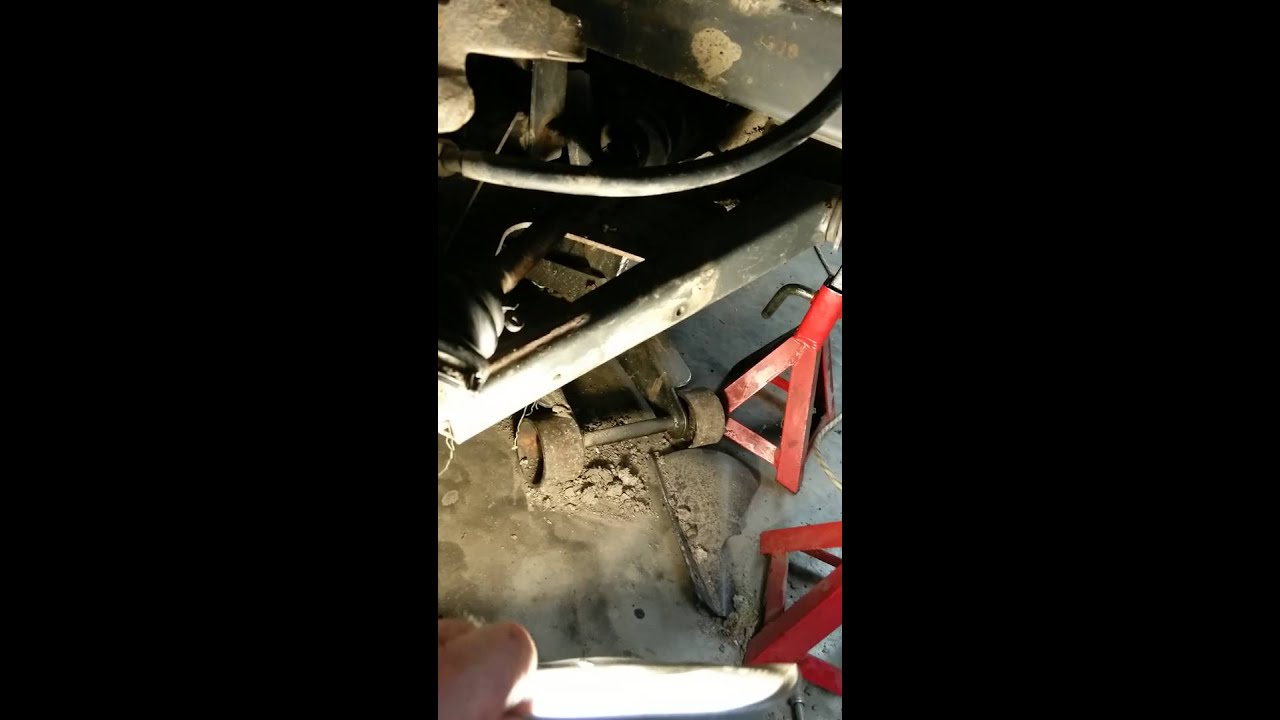Kubota RTV900 front CV half-shaft removal - Video 2 of 3