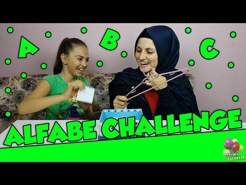 Challenge - Alfabe Eşya Bulma Oyunu #2 | Alphabet Challenge | Meydan Okuma