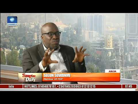 The Only Good Thing In APC Is Buhari - Segun Sowunmi