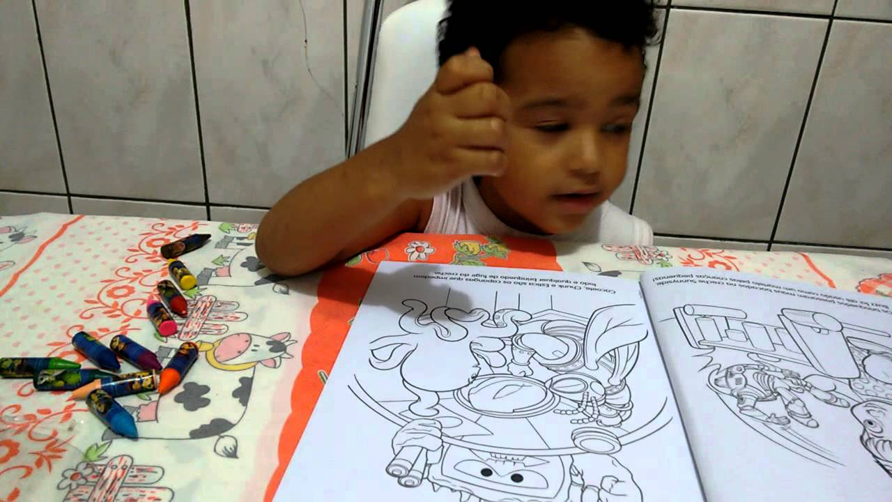 Toy Story 3 Livro Para Colorir Youtube