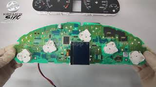 LCD Display for Peugeot 407 40…