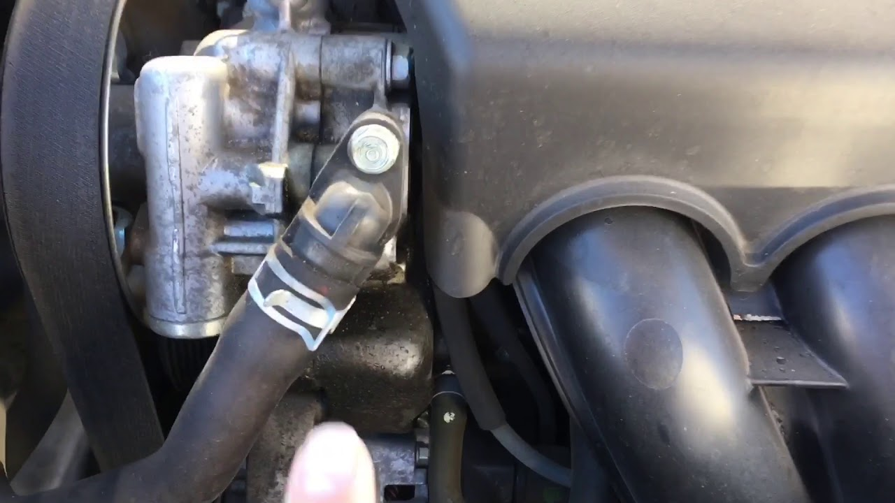 Honda Accord 2008 power steering o-ring leak fix, whining ...