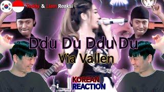 [IDN SUB] Orang Korea Reaksi, Via Vallen - Ddu Du Ddu Du( Black Pink Koplo Version), Korean Reaction