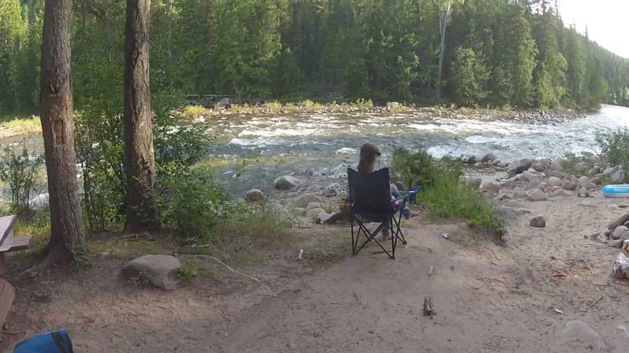 Camping BC - Kettle River - YouTube
