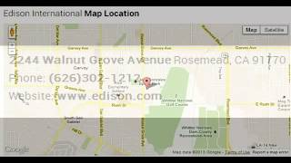 Edison International Corporate Office Contact Information Thumbnail