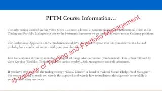 FOREX Market Foundation 1 = Opportunity Set - Sample Video 1 thumbnail
