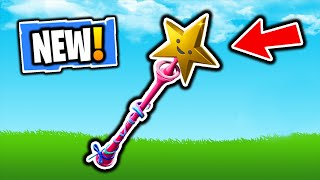 FORTNITE NEW STAR WAND PICKAXE! FORTNITE NEW ITEM SHOP UPDATE! FREE VBUCKS SKINS GIVEAWAY