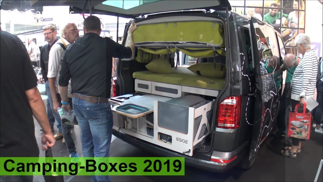 Camping Boxes 2019 Turn Your Car Into Camper Youtube