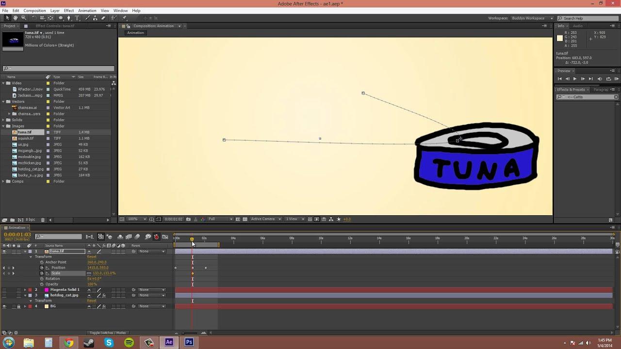 After Effects CS6 Tutorial - 20 - Auto Keyframe Mode — Steemit