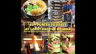 20+ Places To Visit At Least Once in Melaka - by MyMakanTV