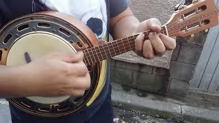 Fazendo banjo som