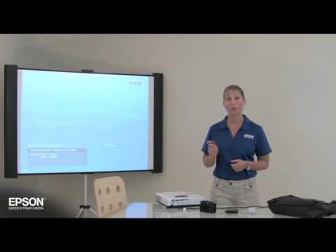 epson projectors pc free presentations youtube